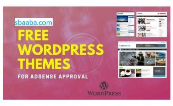Free WordPress theme for AdSense approval 2021