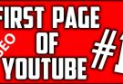 How to Rank YouTube video on first page